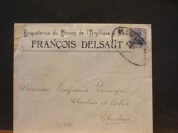 83/976   LETTRE  POUR CHARLEROI  CENSURE 1917 - WW I