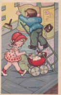 Illustrateur Margrette BORISS - Un Maladroit- N° 334 (lot Pat 90) - Boriss, Margret