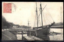SAINT VALERY SUR SOMME 80 - Navire Au Port - #B153 - Saint Valery Sur Somme