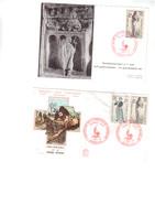 CROIX ROUGE  Enveloppe 1er Jour Du 7/12/1963 Plus Une Carte Maximum - 1960-1969