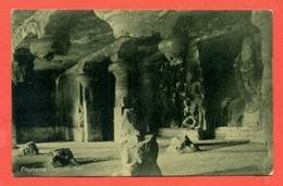 INDIA  -  TRIMURTI- ELEPHANTA - India