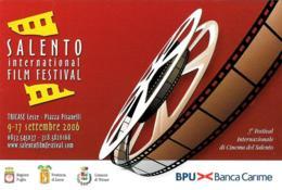 [MD4038] CPM - CINEMA - SALENTO INTERNATIONAL FILM FESTIVAL 2006 - TRICASE LECCE - PERFETTA - NV - Cinema
