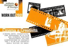 [MD4042] CPM - CINEMA - WORK OUT 2001 - CINEMA E CREATIVITA' - PROMOCARD 2554 - PERFETTA - NV - Cinema