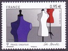 France N° 4826 ** La Mode - France/Singapour - Manequins - Ungebraucht