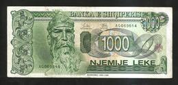 ALBANIA - NATIONAL BANK - 1000 LEKE (1994) - Albania