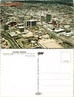 Ariel View Of Downtown, Tucson, Arizona - Tucson