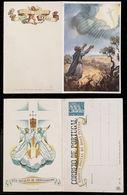 1940 Christmas Portugal Unused Stationery. Inteiro/Entier Postal. Noel. Boas Festas Natal #27. Milagre De Ourique. - Postal Stationery
