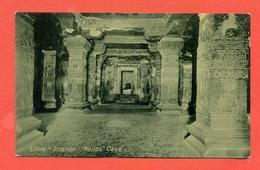 INDIA  - ELLORA - KAILAS - CAVE - India
