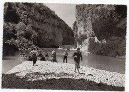 .Lozère --Gorges Du Tarn --1948--près  SAINTE EMINIE  --Les Détroits (belle Animation)..cachet  MILLAU-12.....à Saisir - Gorges Du Tarn