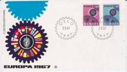 Norway  1967 FDC Europa CEPT (G106-15) - Europa-CEPT