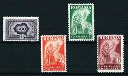 Rumanía Nº 402/5 Nuevo* Cat.22,40€ - 1918-1948 Ferdinand, Charles II & Michael