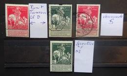 BELGIE   1911  Caritas       'Variëteiten  Balasse'    Op Nr. 93 En 99     Zie Foto - 1910-1911 Caritas