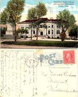 McClelland Public Library And Columbus Monument, Pueble, Colorade - Pueblo