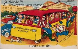 PORT-LOUIS. Carte à Système (10 Vues) - Port Louis