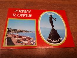 Postcard - Croatia, Opatija, Self Adhesive Postcard         (28713) - Croazia