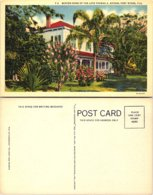 Winter Home Of The Late Thomas A. Edison, Fort Myers, Florida - Fort Myers