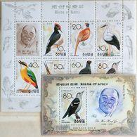 125.KOREA 1992 STAMP M/S + S/S BIRDS OF KOREA, DR. WON HONG GU .MNH - Corea (...-1945)
