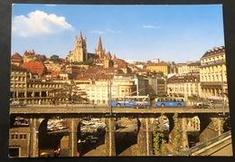 Lausanne Le Grand Pont/ Bus - VD Waadt