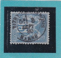 /SAGE N° 90  / TYPE II B   - CACHET VITRY LE FRANCOIS / MARNE  Centré - 8 SEPT 1880  -REF  1602 - 1876-1898 Sage (Type II)
