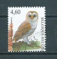 2010 Belgium 4,60 EURO Buzin Birds,oiseaux,vögel,kerkuil Used/gebruikt/oblitere - Belgique