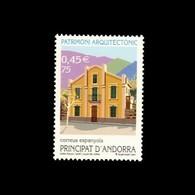 Andorra Española 286 2001  Arquitectura MNH - Spagna