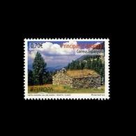 Andorra Española 393  2012 Europa Naturaleza Valle Del Madriu MNH - Spagna