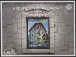 Andorra Española 448 2016 Arquitectura Del Granito MNH - Spagna