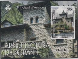 Andorra Española 461 2017 Arquitectura Del Granito MNH - Spagna