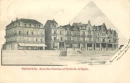 Wenduyne - Hôtel Des Familles Et Partie De La Digue - Wenduine