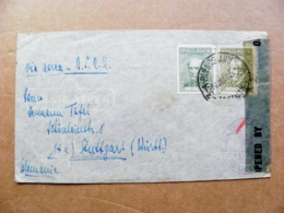 Cover Argentina Bueinos Aires Sent To Germany - Cartas