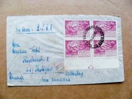 Cover Argentina Bueinos Aires Sent To Germany  Semana De Aeronautica 1947 - Cartas