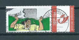 2003 Belgium Persoonlijke Postzegels+tab Kuifje,strips,comics Used/gebruikt/oblitere - Timbres Personnalisés