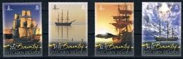 Serie Set  Bateaux Ships Bounty  Yvert N° 778-781 Cote 20,00 Euros  Neuf MNH ** Pitcairn 2012 - Timbres