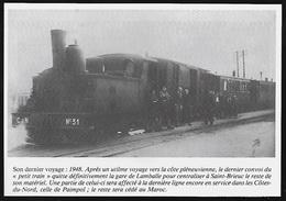 1986 --  PLENEUF VAL ANDRE DERNIER PETIT TRAIN EN 1948  3R805 - Sin Clasificación