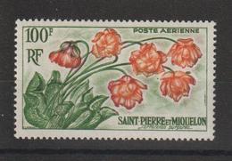 Saint Pierre Et Miquelon 1962 Fleurs PA 27 Neuf ** MNH - Airmail