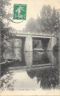 Créteil - Le Pont Noël, Barques - Carte LL N° 41 - Creteil