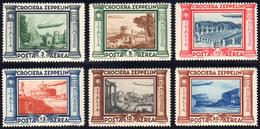 1933 - Zeppelin (45/50), Gomma Integra, Perfetti.... - Italien