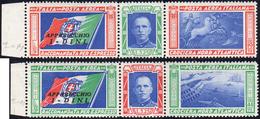 1933 - Trittici I-DINI (51F/52F), Gomma Integra, Perfetti. Molto Freschi.... - Italien