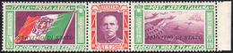 1933 - 5,25 + 44,75 Lire Trittico Servizio Di Stato, Filigrana Lettere (1a), Gomma Integra, Perfetto... - Italien