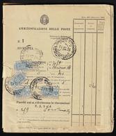 1934/76 - Bollettario Completo Di 50 Matrici Del Mod. 267, Utilizzate Nell'arco Di 43 Anni Nell'uffi... - Italien
