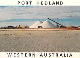 Australie  Western Australia (WA) PORT HEDLAND Leslie Salt Stockpiles View From The Roadside (sel) -Voir ETAT *PRIX FIXE - Port Hedland