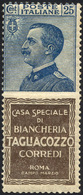 1924 - 25 Cent. Tagliacozzo (8), Gomma Originale Integra, Perfetto. A.Diena.... - Italien