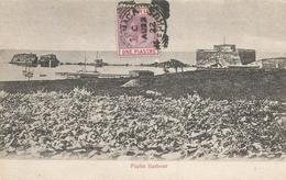 Cyprus 1922 Larnaca Paphos Harbours Viewcard - Cartas