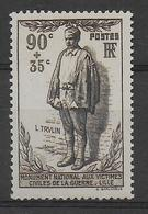 1939 - YVERT N° 420 ** MNH  - COTE = 21 EUR. - - Frankreich