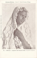 ERITREA-COLONIA ERITREA BISCIAU RAGAZZA DEL OCULE' CUSAI - Eritrea