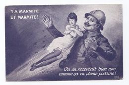 Y A MARMITE ET MARMITTE  (SID, Humour) - Guerre 1914-18
