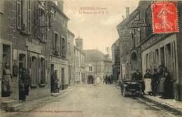 YONNE  RAVIERES   Le Bureau Des P.T.T - Francia