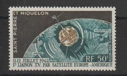 Saint Pierre Et Miquelon 1962 Télécommunications PA 29 Neuf ** MNH - Airmail