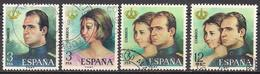 Spanien (1975)  Mi.Nr.  2195 - 2198  Gest. / Used  (2ga26) - 1931-Heute: 2. Rep. - ... Juan Carlos I