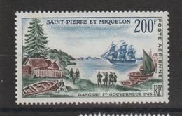 Saint Pierre Et Miquelon 1963 Bicentenaire PA 30 Neuf ** MNH - Airmail